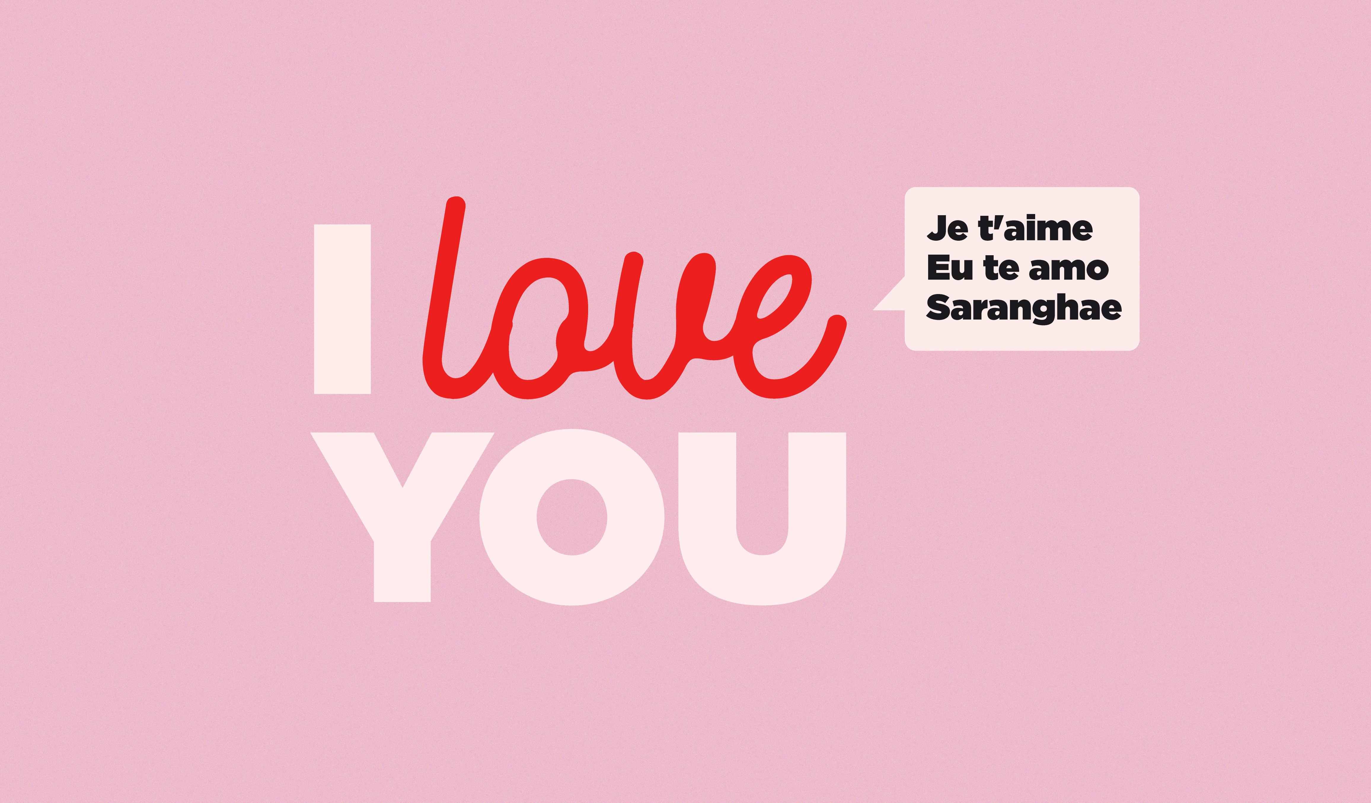 """Dile """"Te amo"""" en 43 Idiomas diferentes cover"""